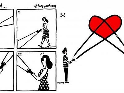 23 mẩu truyện tranh dễ thương cho thấy tình yêu luôn đầy ắp bất ngờ thú vị