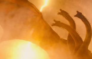"""Bàng hoàng trước trận đại chiến hủy diệt giữa Godzilla và Rồng ba đầu Ghidora trong trailer cuối cùng của """"siêu bom tấn"""" Chúa Tể Godzilla"""