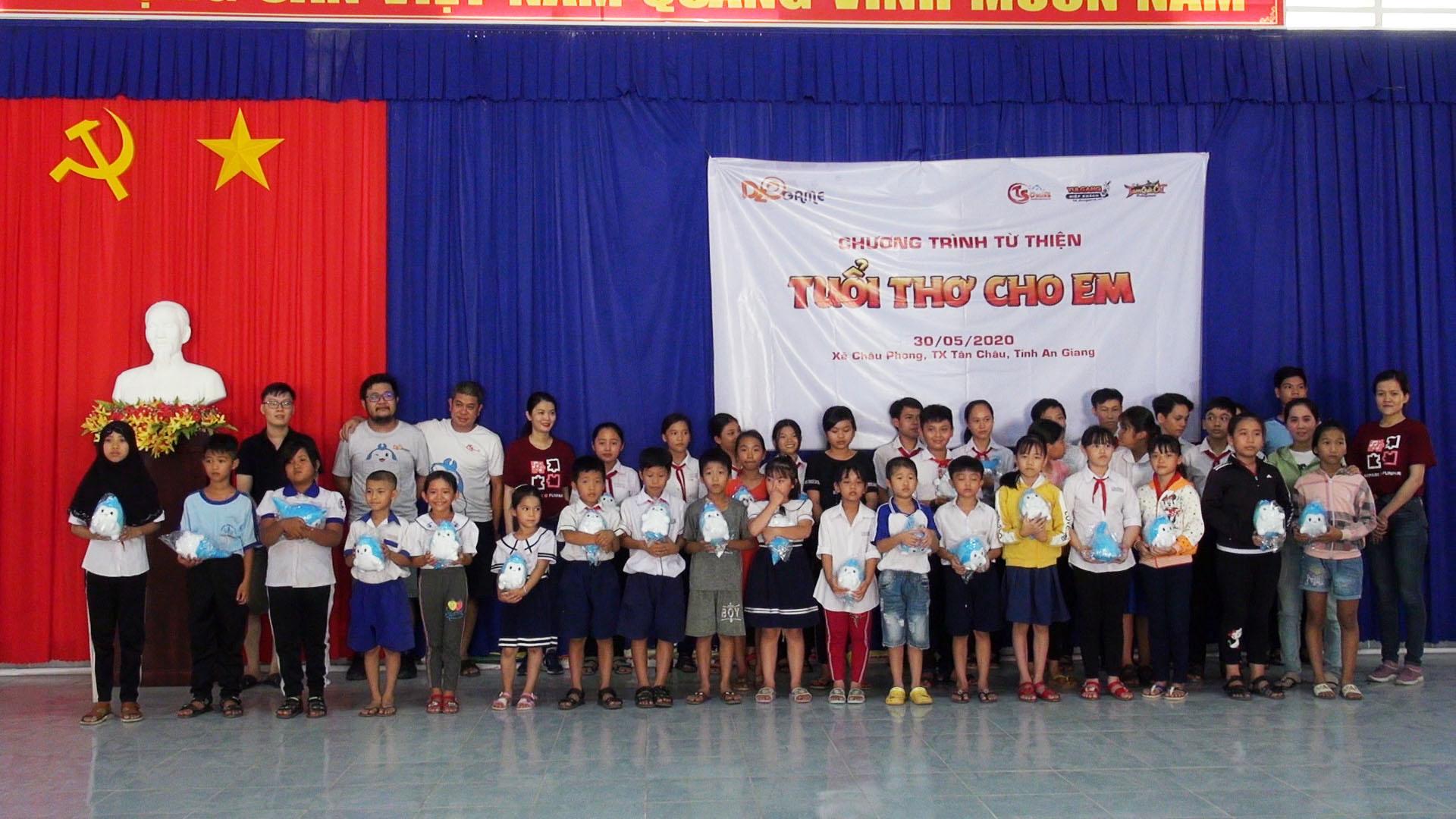 Quốc tế Thiếu Nhi 1/6, NPH Dzogame tổ chức chương trình