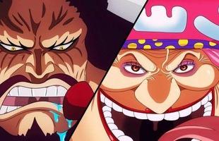 Spoiler One Piece chapter 951: Biến cực căng, Kaido với Big Mom vừa chạm mặt đã lao vào ẩu đả