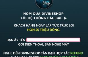 Lỗi hệ thống trong ít phút, trang web bán game bản quyền lại bị game thủ Việt trục lợi hơn 20 triệu đồng