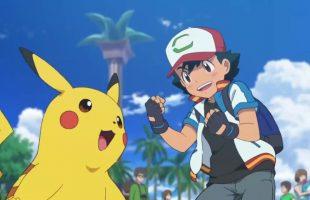 Pikachu và Pokémon Huyền thoại xuất hiện trong phim điện ảnh Pokémon The Movie: Sức Mạnh Của Chúng Ta