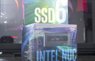 """Đánh giá cặp đôi Intel NUC7i7BNH và SSD 660p: Không thể thiếu cho góc học tập """"chất"""""""