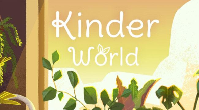 Kinder World mobile – trồng cây ảo chống trầm cảm, lo âu