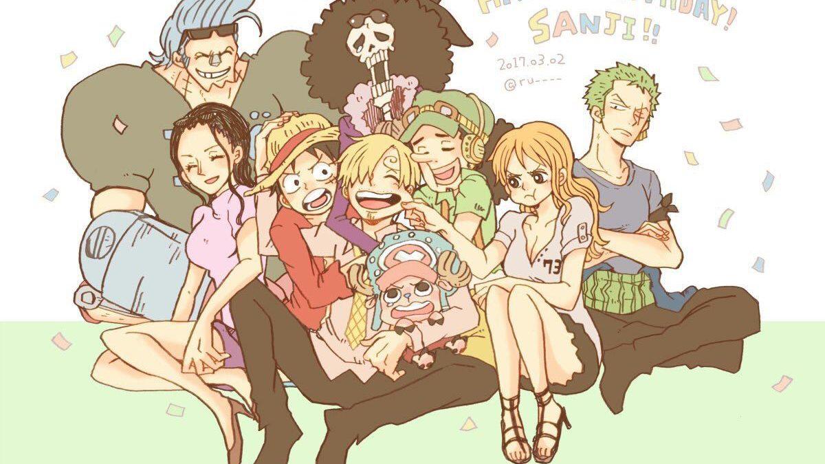 Chúc mừng sinh nhật Sanji, đầu bếp nhóm Mũ Rơm kiêm