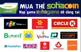 Tổng hợp danh sách đại lý, cách mua thẻ SohaCoin dễ dàng hơn