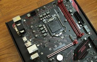 MSI B360M Gaming Plus - Bo mạch chủ vừa túi tiền chiến game cực ngon