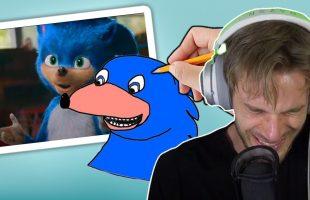 """PewDiePie trổ tài """"chỉnh sửa"""" tạo hình của Sonic trong bộ phim mới và kết quả như này đây"""