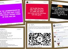 Đại lý thẻ Zing rao bán thẻ trong cộng đồng game thủ