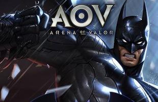 Liên Quân Mobile: Hướng dẫn nhận miễn phí tướng bản quyền DC là Batman từ Tencent
