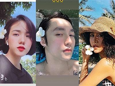 """Sơn Tùng như bị """"bánh bèo"""" nhập, ăn theo trend cài hoa đại điệu đà của loạt mỹ nhân Việt"""