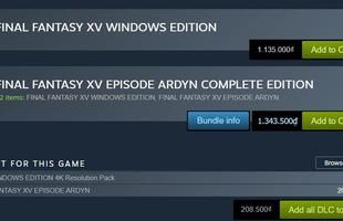 Sale 0% nhưng vẫn quảng bá trên Steam, Final Fantasy bị game thủ chửi cho tơi bời