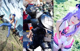 Tổng hợp những màn cosplay ấn tượng nhất tại sự kiện Comiket 95 tổ chức tại Nhật Bản