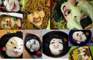 Những hộp cơm mang phong cách kinh dị như manga Nhật Bản