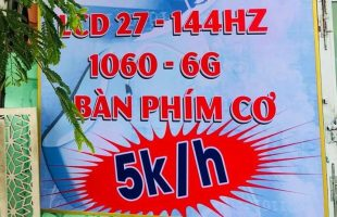 """Hội chủ net Việt than ngành net """"càng ngày càng nát"""" khi xem một quán i3, 1060 6GB, phím cơ treo giá 5000đ/h"""