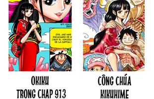 """Cùng tìm hiểu về Kikuhime, nàng công chúa xinh đẹp có ngoại hình """"y hệt"""" Okiku trong One Piece 913"""