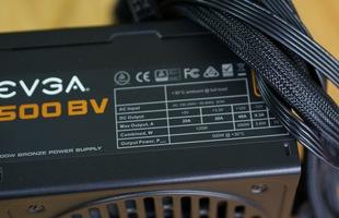 Đập hộp, test thử rồi... mổ bụng EVGA 500BV - Bộ nguồn đáng giá cho game thủ Việt