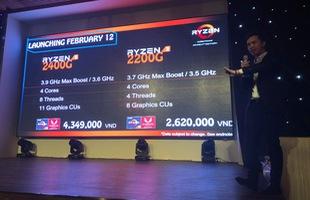Chip xử lý Ryzen thế hệ mới chính thức ra mắt làng game Việt, không cần card đồ họa rời vẫn chơi mượt game