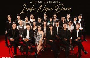 Streamer Linh Ngọc Đàm chính thức gia nhập Creatory