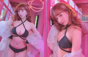 """""""Idol quốc dân"""" Yua Mikami khoe ảnh đầy gợi cảm trên tạp chí 18+"""