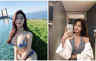 Nhan sắc của hai gái xinh trên mạng xã hội Hàn Quốc - thần vệ nữ khiến cánh đàn ông phải quỳ gối xin hàng