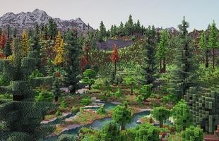 Dành cả năm trời tái tạo lại địa hình Minecraft, anh chàng khiến Reddit mê mẩn và cho ngay 12.400 upvote