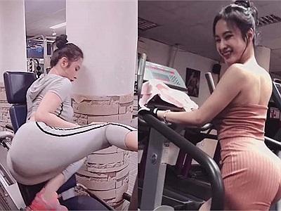 Angela Phương Trinh tung clip khoe cách giúp vòng 3 tròn trĩnh 1m cực hot