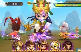"""Game """"chiến thuật quốc tế"""" Three Kingdoms: The New War chính thức tung Landing, ra mắt 16/4"""