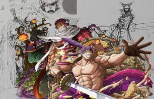 One Piece: Bất ngờ với thiết kế và trái ác quỷ ban đầu của 3 Tư lệnh ngọt băng Big Mom