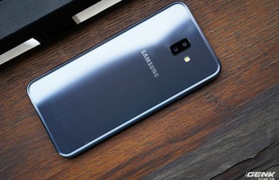 Trải nghiệm Galaxy J6+ vừa ra mắt của Samsung: giao diện giống Note9, hoàn thiện tốt, vị trí đặt cảm biến vân tay tốt hơn
