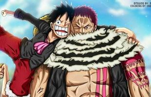 """One Piece: Charlotte Katakuri sẽ thay Big Mom làm thuyền trưởng... và kết đồng minh với """"Vua hải tặc tương lai"""" Luffy?"""