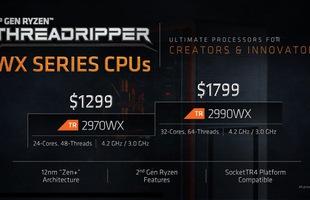 Đã có điểm benchmark của Ryzen Threadripper 2990WX 32 nhân: Vả