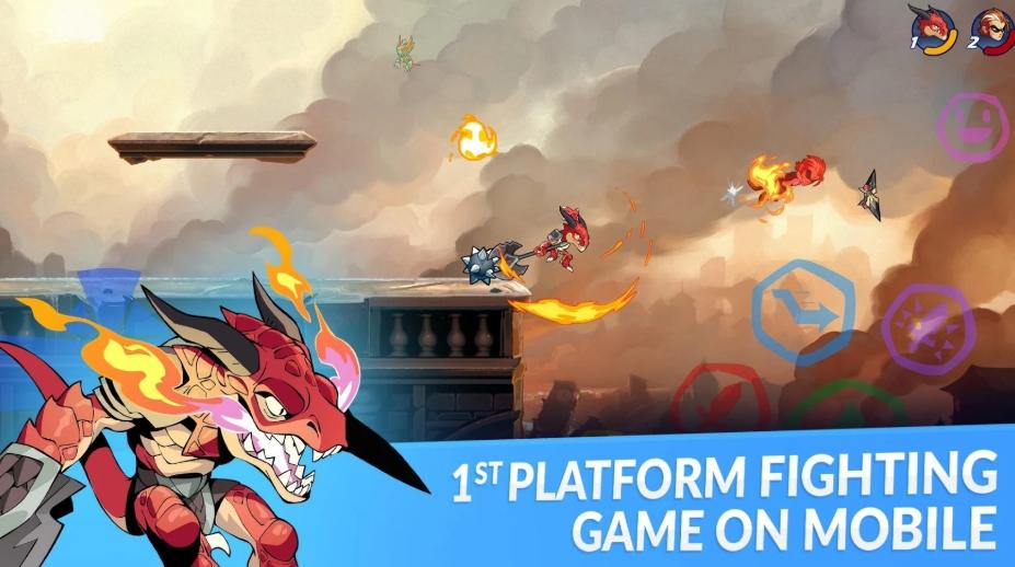 Brawlhalla của Ubisoft hiện có sẵn trên cả Google Play Store và Apple Store