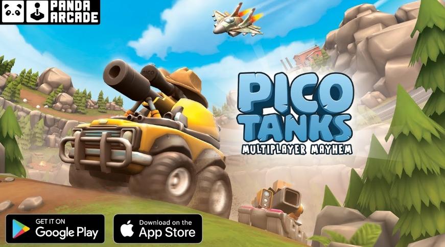 Tải ngay Pico Tanks - Game đối kháng bắn tăng cực hay trên mobile
