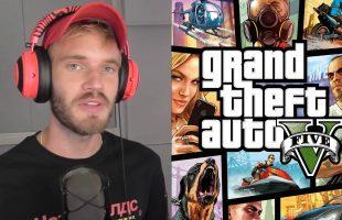 """""""Đại chiến"""" PewDiePie vs T-series: Fan hack cả GTA để kêu gọi đăng ký, web khiêu dâm nổi tiếng cũng """"góp vui"""""""