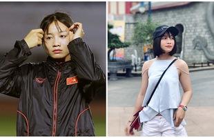 Xinh đẹp như hot girl, hoa khôi bóng đá nữ Việt Nam bất ngờ sở hữu tới hơn 100.000 follow trên Facebook sau một đêm