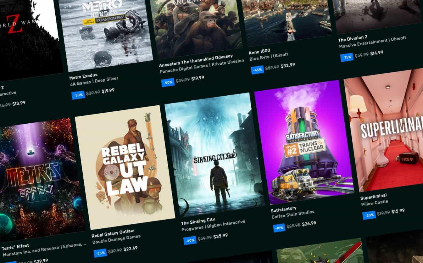 Epic Games sẽ mất hơn 300 triệu đô la cho các tựa game độc quyền