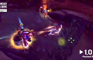 Choáng váng với kỹ năng bắn cháy máy của Ruler - Cầm Ashe 1 chấp 3 vẫn bắn tan nát team địch