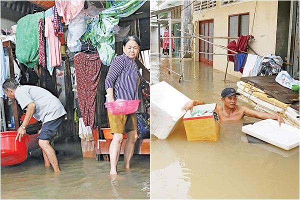 """Bàng hoàng 10 ngày """"lịch sử"""" đối diện với ngập lụt ở đảo ngọc Phú Quốc"""