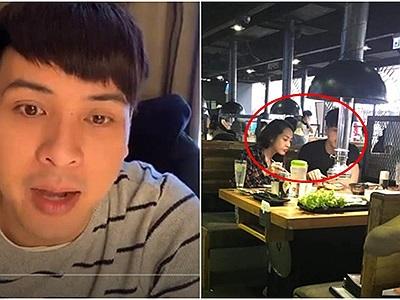 """Bị chụp trộm đi ăn với Bảo Anh, Hồ Quang Hiếu ấm ức than vãn: """"Mình thấy rất buồn,…chụp xấu quá"""""""