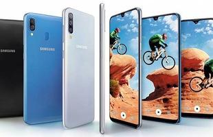Samsung Galaxy A30, A50 chính thức ra mắt tại Việt Nam, cảm biến vân tay dưới màn hình, pin 4.000mAh, giá từ 5,79 triệu