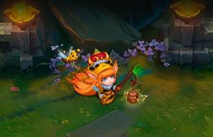 """""""Trụy tim"""" với vẻ đáng yêu của Lulu Nữ Hoàng Ong - Trang phục LMHT tuyệt đẹp do game thủ thiết kế"""