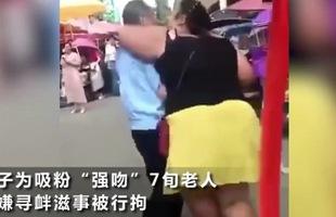 Đắng lòng nữ streamer cưỡng hôn cụ già 70 tuổi trên sóng để tăng view và cái kết nghiệt ngã cho kẻ sàm sỡ