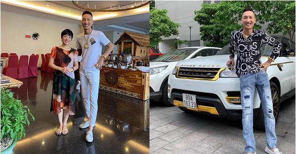 Huấn Hoa Hồng úp mở chuyện dấn thân vào showbiz, khoe ảnh chụp cùng MC Thảo Vân