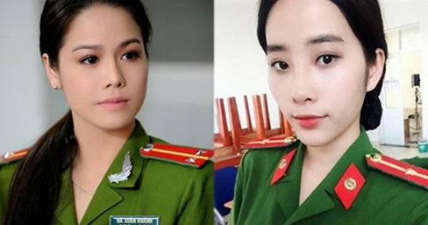 Mặc đồ cảnh sát: Nam Em, Nhật Kim Anh quá chất, nhìn Ngọc Trinh chỉ muốn phạm tội