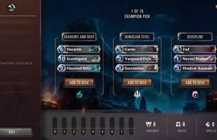 Riot Games tiết lộ những hình ảnh đầu tiên về chế độ chơi mới dạng Arena của Huyền Thoại Runeterra