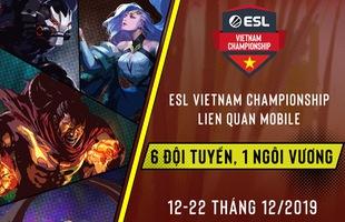 ESL Vietnam xin được trân trọng công bố giải đấu ESL Vietnam Championship - Liên Quân Mobile, được tài trợ bởi Mercedes-Benz