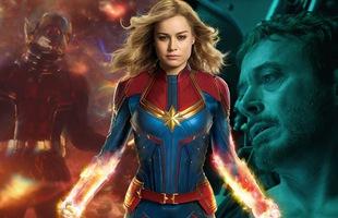 3 lý do vì sao Captain Marvel không có nhiều đất diễn trong Avengers: Endgame