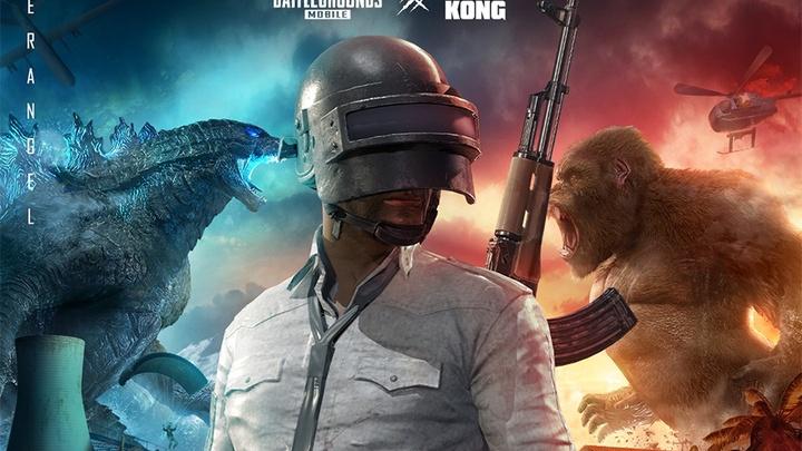 Cập nhật PUBG Mobile 1.4: Trải nghiệm chế độ chơi Godzilla vs Kong