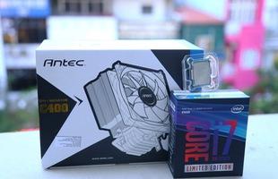 Hàng khủng Intel Core i7-8086K chính thức cập bến Việt Nam